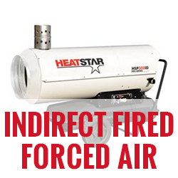 Heatstar Indirect Fired Forced Air
