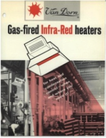 Van Dorn Gas-Fire Infra-Red Heater catalog