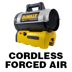 DeWALT Cordless Forced Air Heater Manual