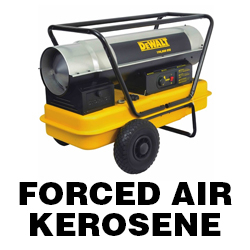 DeWALT Forced Air Kerosene Heater Manuals