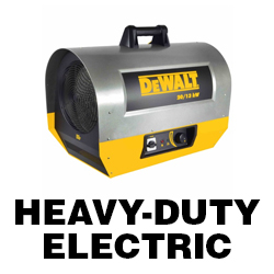 DeWALT Heavy-Duty Electric Heater Manuals
