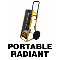 DeWALT Portable Radiant Manuals
