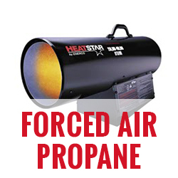 Forced Air Propane Heaters
